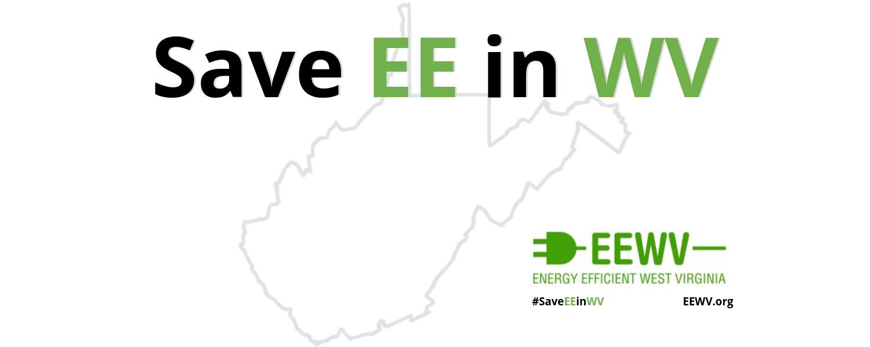 Save EE in WV campaign header
