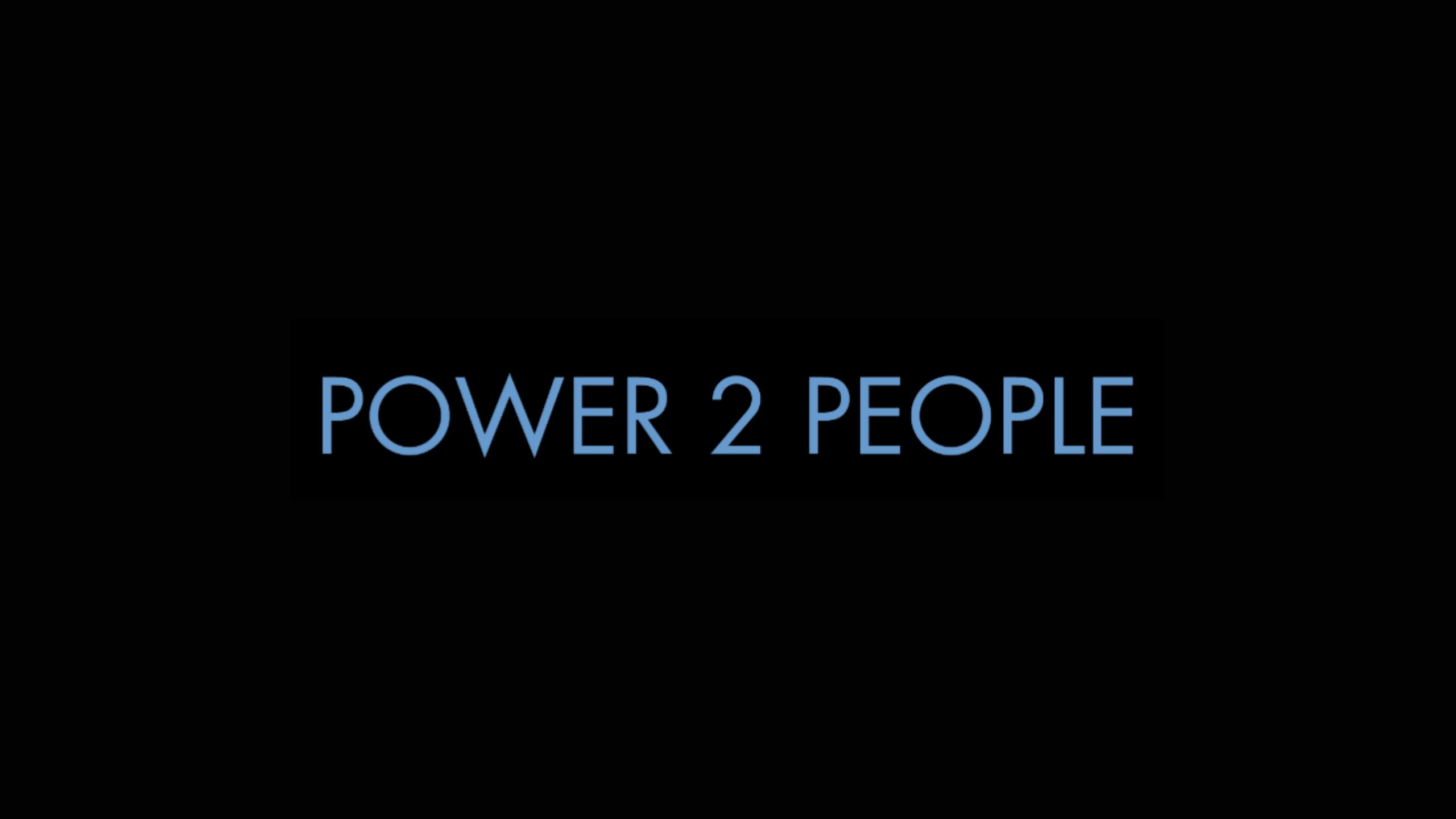 Power 2 People